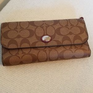 Coach wallet with smaller insert wallet!
